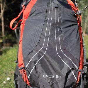 Osprey Exos 58 lichtgewicht rugzak