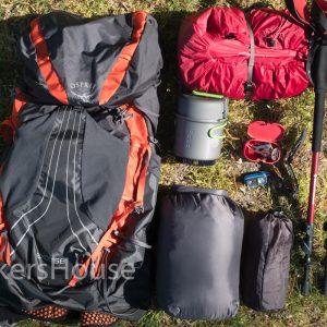 Volledige hiking set Tour du Mont Blanc