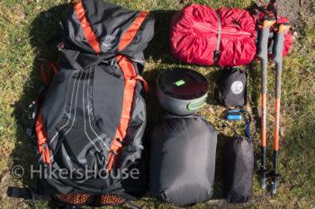 Volledige hiking set West Highland Way