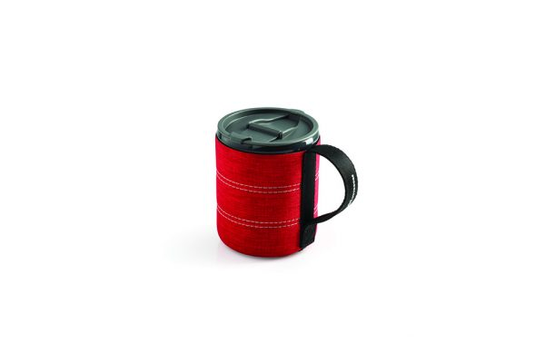 Infinity Backpacker Mug Rood